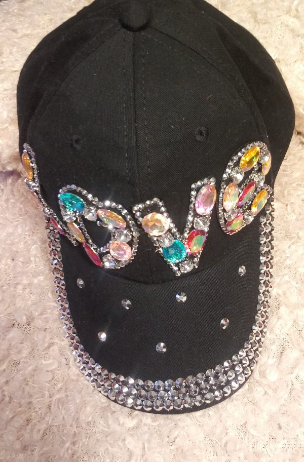 Black Love Hat