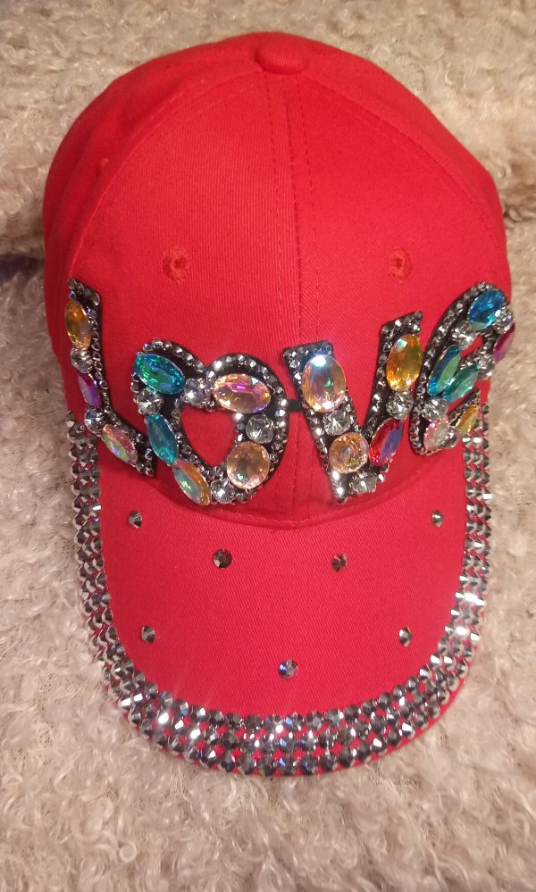Red Love Hat