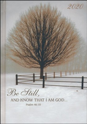 Be Still and Know That I Am God Planner (18 Months)