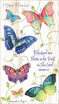 Blessed Are Those Who Trust 2020 Planner (18 Months)