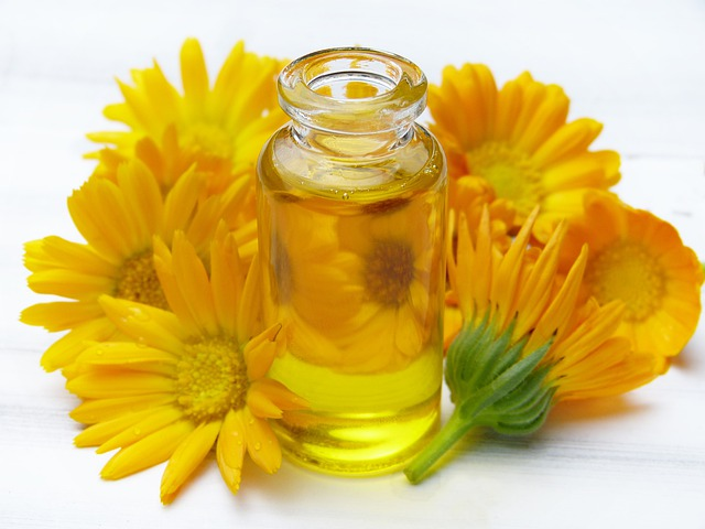 The Anointing oil & sunflower