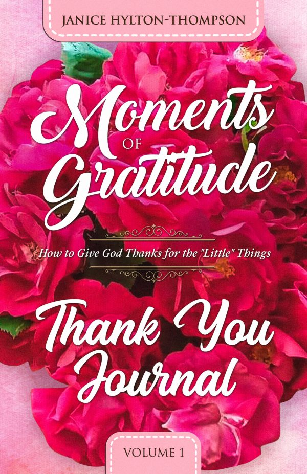 EBOOK JOURNAL of Moments of Gratitude THANK YOU JOURNAL