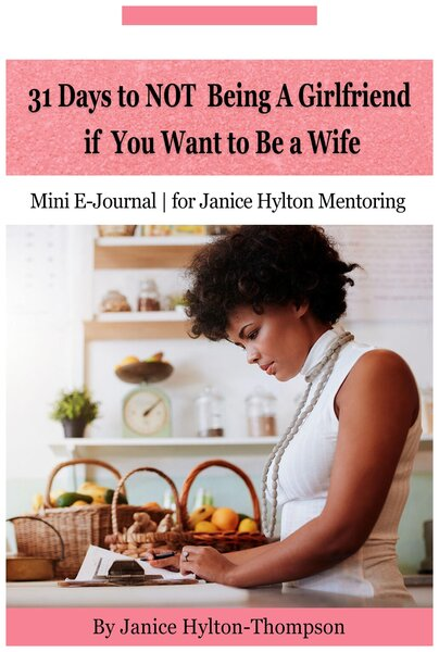 EBOOK 31 Days to NOT Being a Girlfriend If You Want to Be a Wife